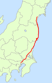 Japan National Route 6 Map.png