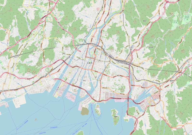ファイル:Hiroshima City Urban Area.png